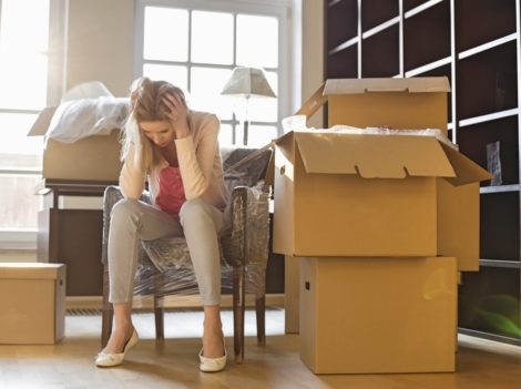 reduce stress while moving